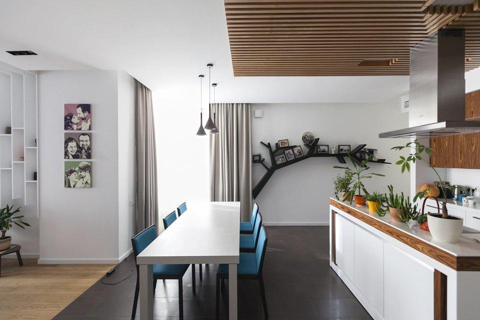 Трёхкомнатная квартира сотделкой изнатуральных материалов . Изображение № 11.