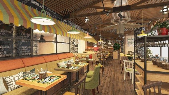 На Московском проспекте открылся ресторан «Марчеллис». Изображение № 1.