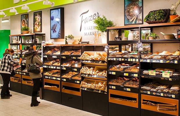В двух супермаркетах Prisma появились пекарни Fazer. Изображение № 2.