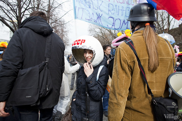 В Москве прошло арт-шествие в честь Дня космонавтики. Изображение № 23.