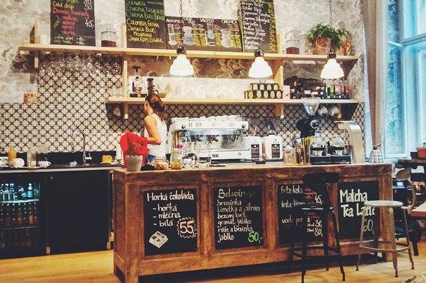 Где пить кофе вПраге. Изображение № 9.