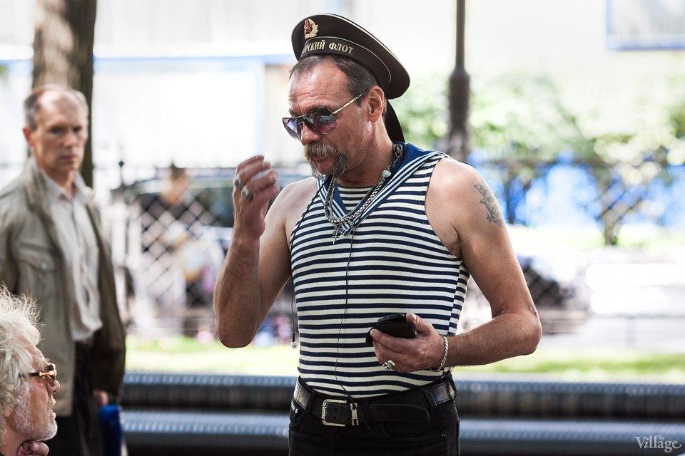 Фоторепортаж: День Военно-Морского флота вПетербурге. Изображение № 13.
