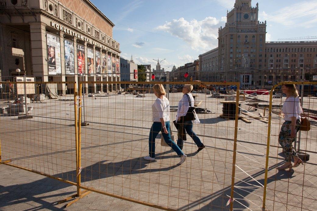 Её раскопали: Пешеходные улицы Москвы за месяц до открытия. Изображение № 34.