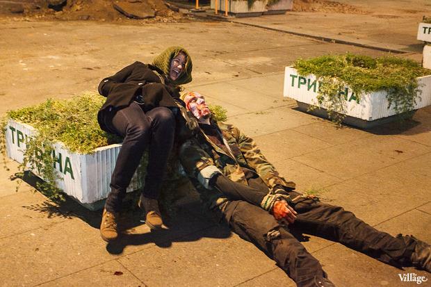 Люди в городе: Хеллоуин вПетербурге. Изображение № 4.