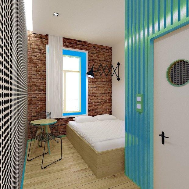 В кластере «Архитектор» открылся хостел. Изображение № 1.