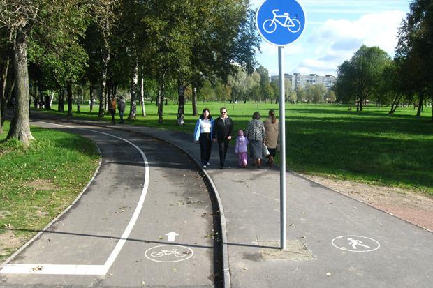 Велодорожка в Муринском парке. Изображение № 6.