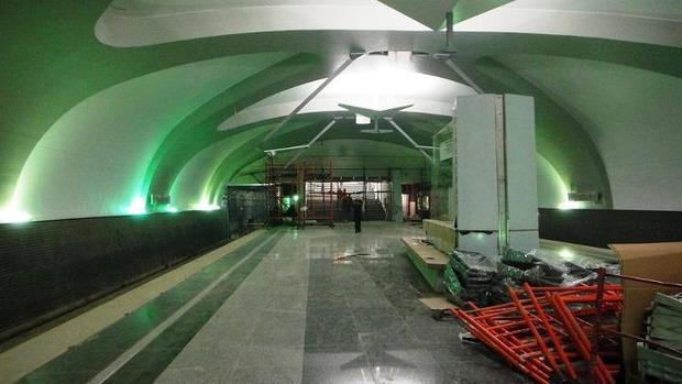 Мэрия показала новую станцию метро «Новокосино». Изображение № 1.