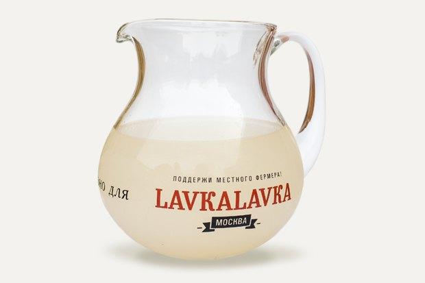 Белый квас изкафе LavkaLavka. Изображение № 1.