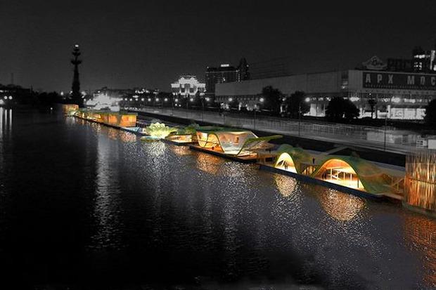 Берега-утопии: Какой могла бы быть Москва-река. Изображение № 8.