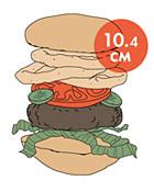 Между булок: Что внутри у самых больших московских бургеров, часть 2. Изображение № 106.