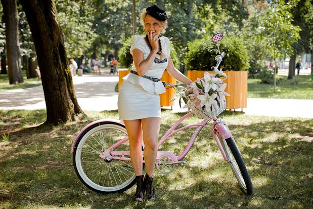 Люди в городе: Участницы парада «Леди на велосипеде». Изображение № 34.
