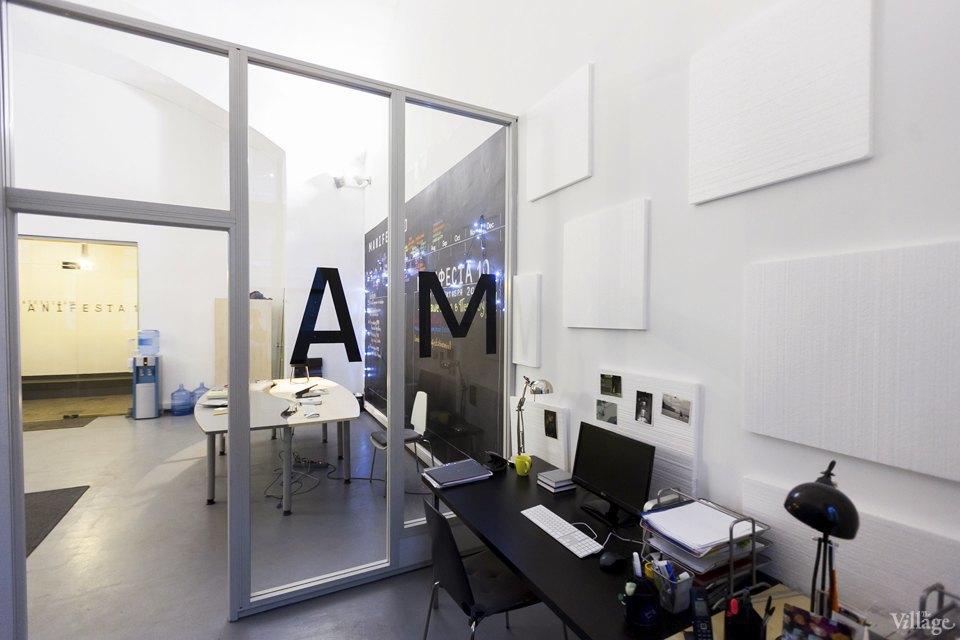 Интерьер недели (Петербург): Офис биеннале современного искусства Manifesta 10. Изображение № 14.