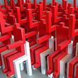 Красных человечков и кубических зверей покажут в «Этажах». Изображение № 1.