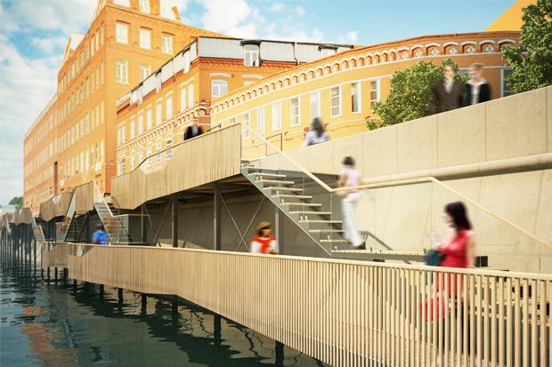 Берега-утопии: Какой могла бы быть Москва-река. Изображение № 16.