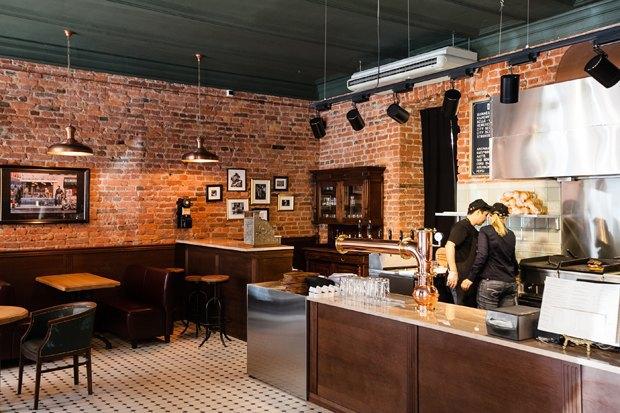 НаРубинштейна открылась бургерная CityGrill. Изображение № 1.