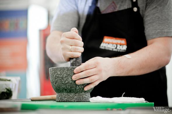 Omnivore Food Festival: Иван Шишкин готовит пеммикан и черемуховые полбяные пряники. Изображение № 35.