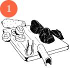 Рецепты шефов: Жаркое из бараньей лопатки с сухофруктами. Изображение № 4.