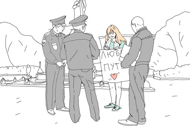 Эксперимент The Village: Как провести одиночный пикет в Москве. Изображение № 3.