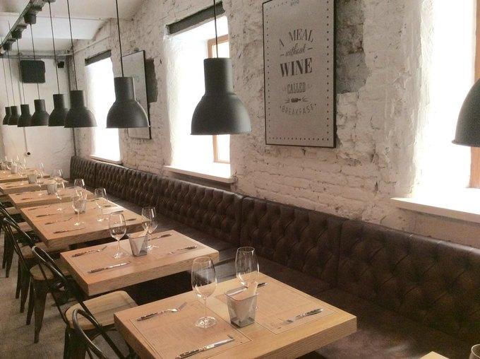 Сергей Минаев открыл четвёртый посчёту винный бар «Хлеб и вино». Изображение № 2.