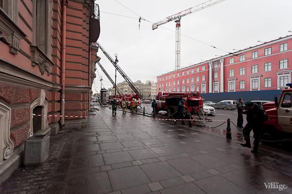 В Петербурге горел дворец Белосельских-Белозерских. Изображение № 4.