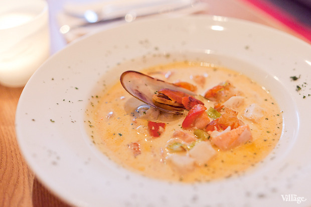 Сливочный суп с морепродуктами — 280 рублей. Изображение № 38.