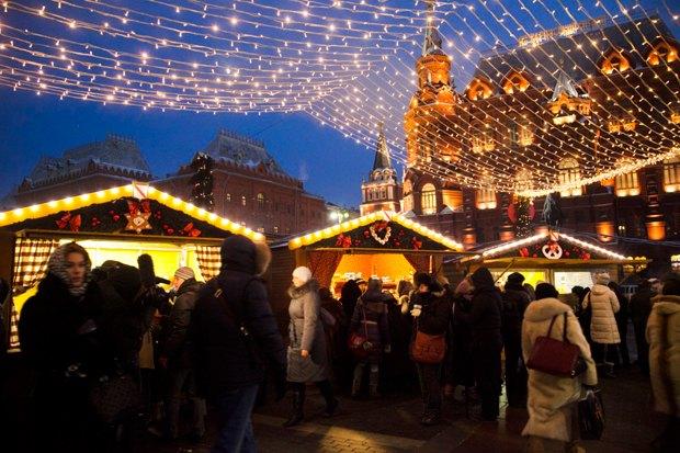 На Манежной площади заработала Страсбургская ярмарка. Изображение № 2.