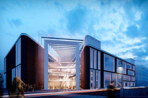 Определены проектировщики фасадов нового здания Третьяковки. Изображение № 5.