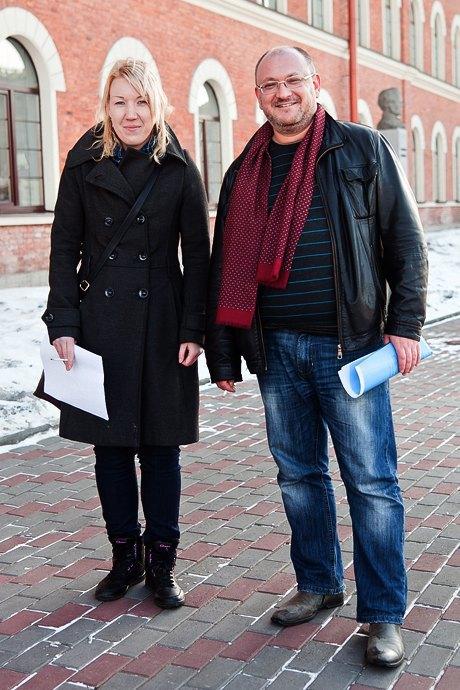 Люди в городе: Первые посетители выставки Icons в Петербурге. Изображение № 27.