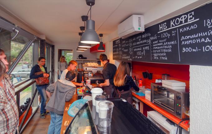 На улице Петра Романова открылась семейная кофейня Point 242. Изображение № 1.