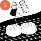 Рецепты шефов: Цитрусовый салат с гребешками. Изображение № 4.