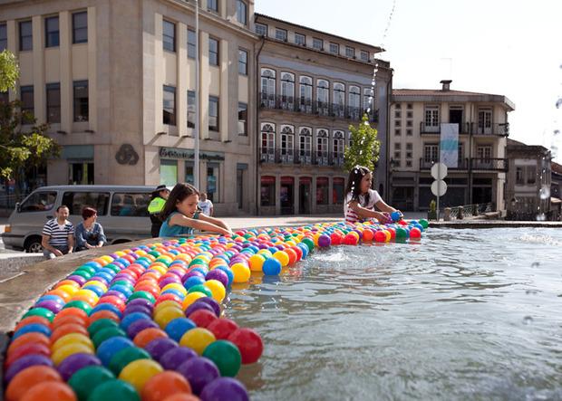 Идеи для города: Общественные бассейны в фонтанах. Изображение № 16.