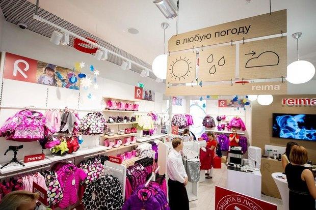 В «Мега Химки» открылся магазин финской детской одежды Reima. Изображение № 1.