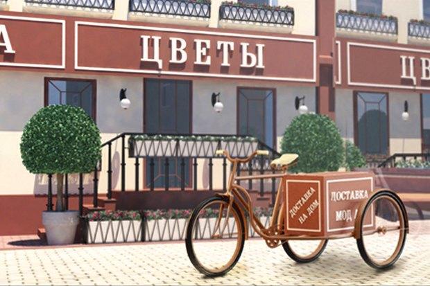 У «Менделеевской» появятся пешеходные зоны в стиле ретро. Изображение № 3.