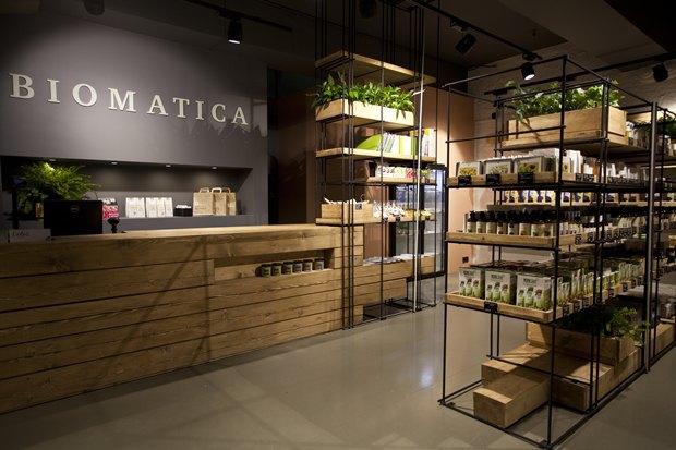 В «Ткачах» открылся магазин натуральных товаров Biomatica. Изображение № 2.