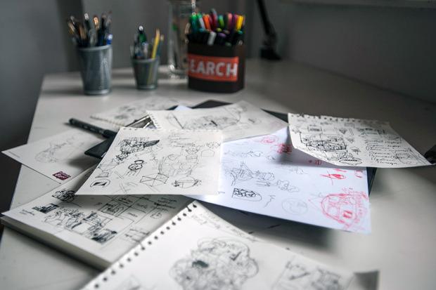 Герб Москвы: Версия граффити-художника Nootk. Изображение № 25.