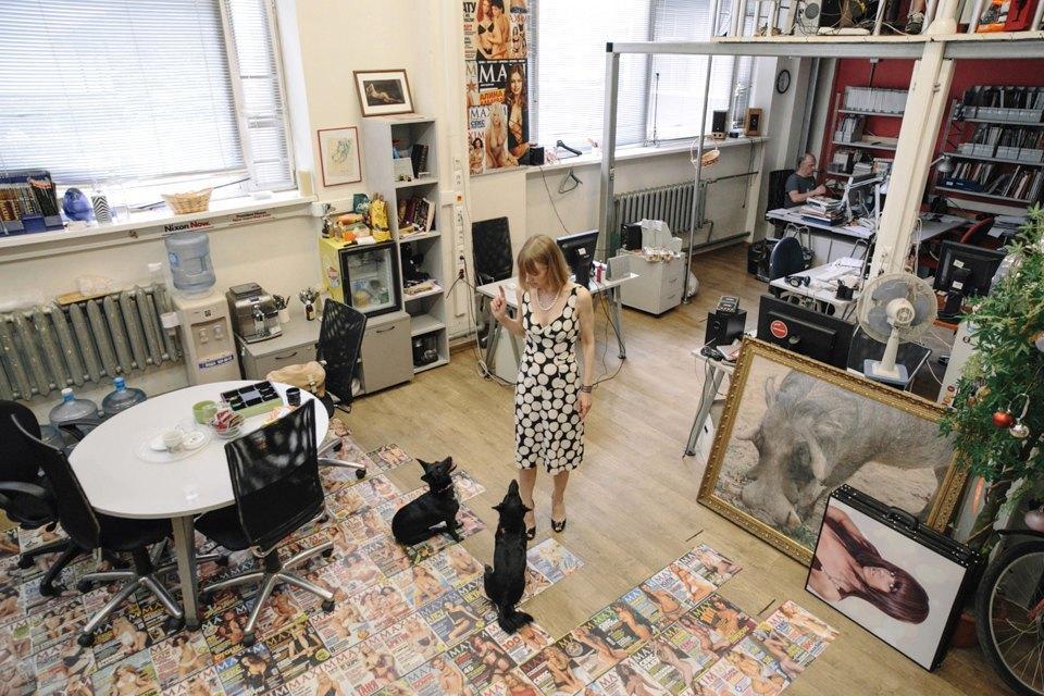 Удав Зина, кот Старки, рыба Крупская и другие животные в офисах. Изображение № 14.
