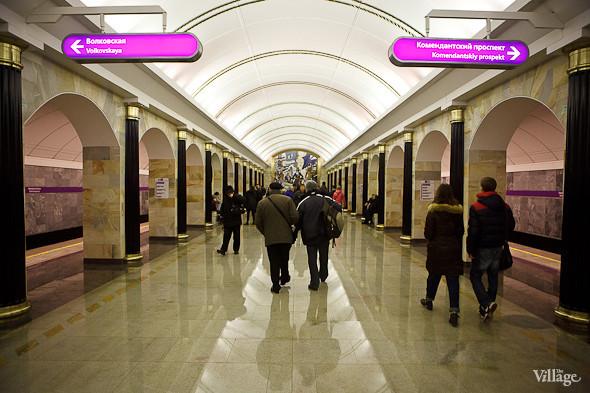 На новой станции метро «Адмиралтейская» уже произошло несколько аварийных остановок эскалатора. Изображение № 20.