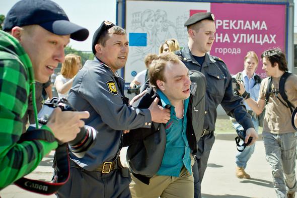 Сopwatch: Действия полиции на гей-параде на Манежной и Тверской площадях. Изображение № 10.