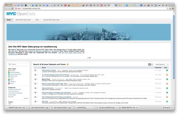 Как правило, для простых людей открытые данные выглядят скучными таблицами, однако разработчики могут создавать на их основе массу полезных сервисов. Изображение № 6.