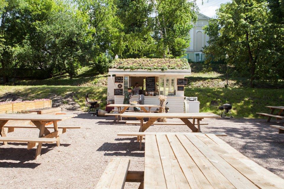 Еда в парке Горького: 33кафе, ресторана икиоска. Изображение № 30.