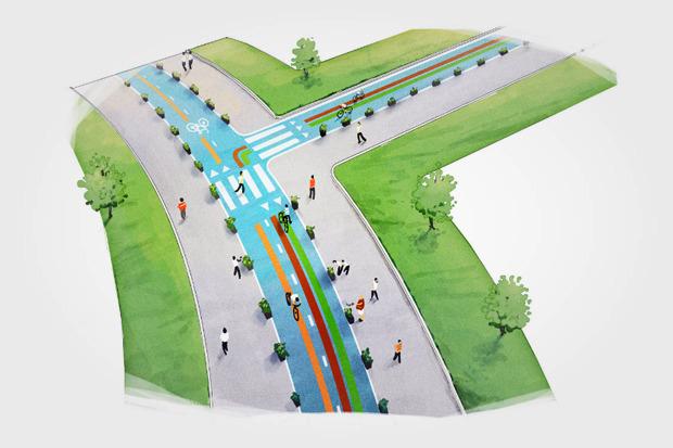 Власти рассказали оперспективах велодвижения вМоскве. Изображение № 21.