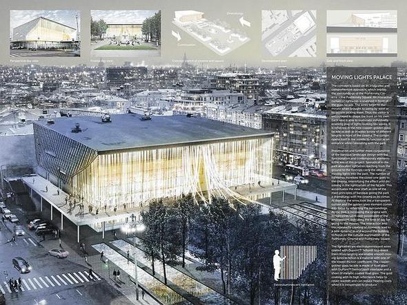 Изображение 8. Иностранные архитекторы представили проекты реконструкции кинотеатра «Пушкинский».. Изображение № 4.