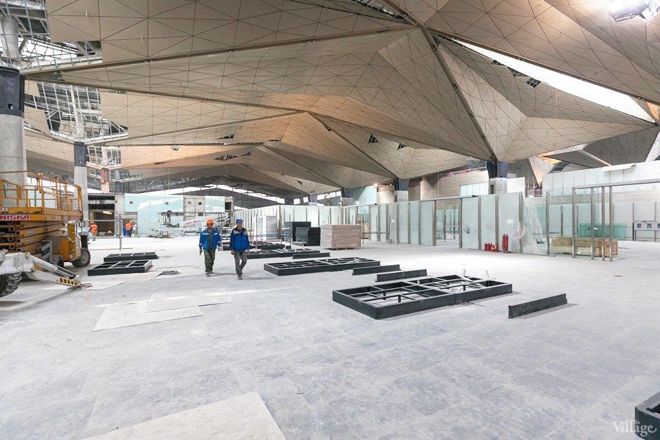Фоторепортаж: Новый аэропорт изнутри. Изображение № 20.