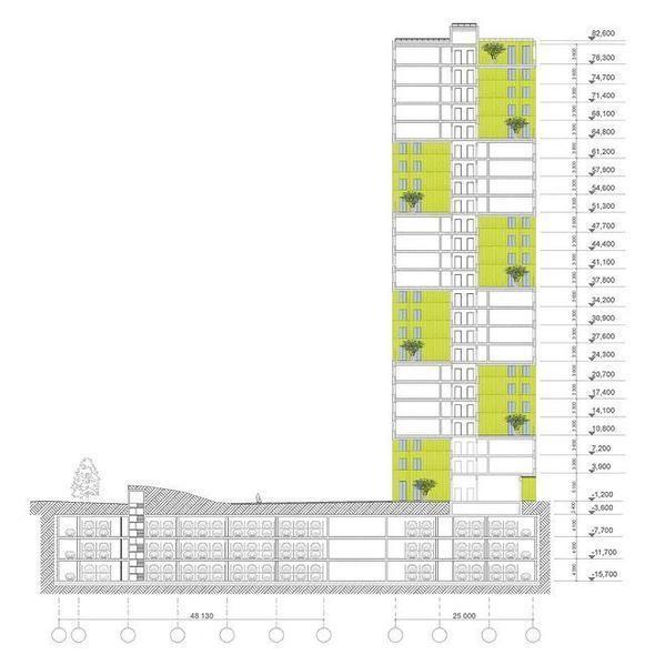 Изображение 8. В Москве построят многоэтажку с зелёными дворами на разных этажах.. Изображение № 8.