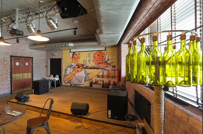 В Хорошёво-Мнёвниках открылся ресторан «Альбатрос» спивом по жетонам. Изображение № 2.