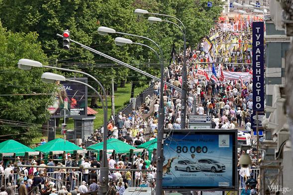 Фоторепортаж: «Марш миллионов». Изображение № 1.