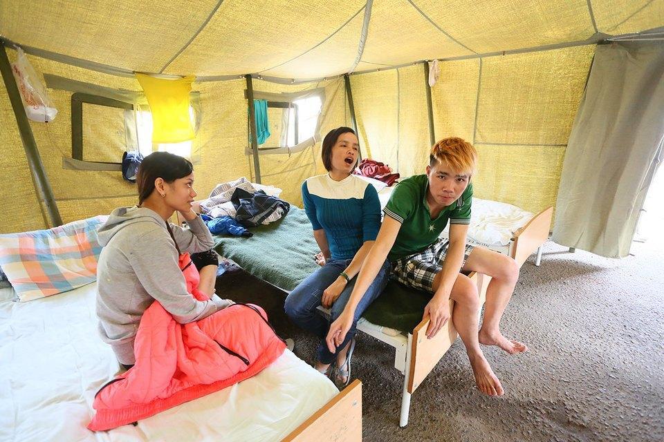 Фото дня: Палаточный лагерь для нелегальных мигрантов в Москве. Изображение № 9.