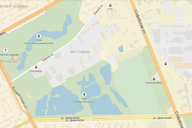 В Купчине разобьют новый парк. Изображение № 1.
