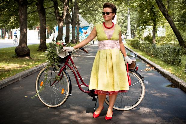Люди в городе: Участницы парада «Леди на велосипеде». Изображение № 36.