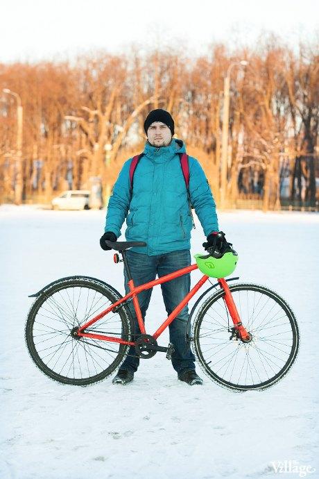 Люди в городе: Кто ездит зимой на велосипеде . Изображение № 1.